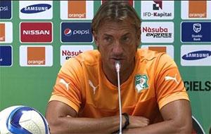Hervé Renard : « La Côte d'Ivoire a éliminé la meilleure équipe du tournoi »