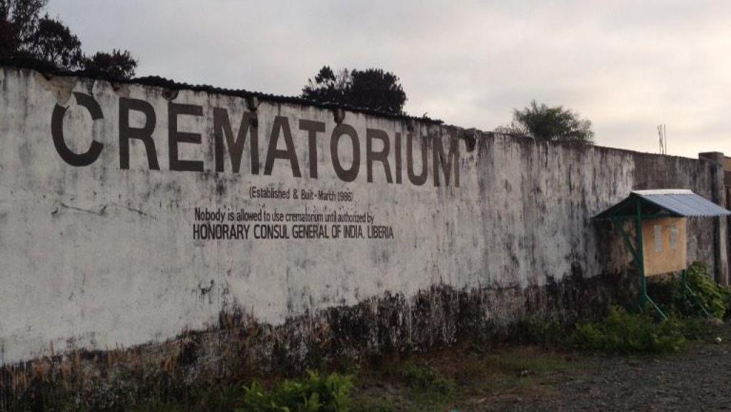 Ebola: colère et abandon au crématorium de Monrovia
