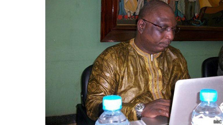 L'ancien ministre guinéen, Thierno aliou Diaouné