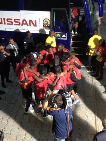 """CAN 2015-FInale: l'arrivée des """"Black stars"""" du Ghana"""