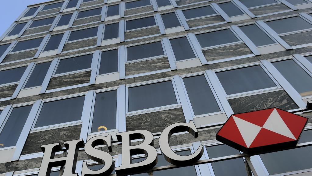 La banque HSBC de Genève, le 9 décembre 2009. AFP / Fabrice Coffrini