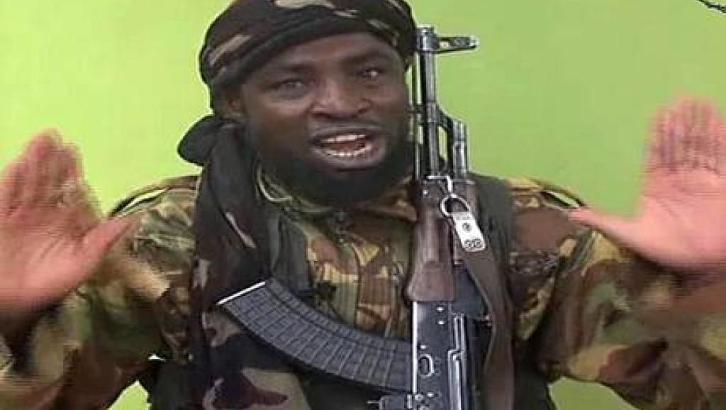 Abubakar Shekau, l'un des leaders de Boko Haram (capture d'écran). AFP