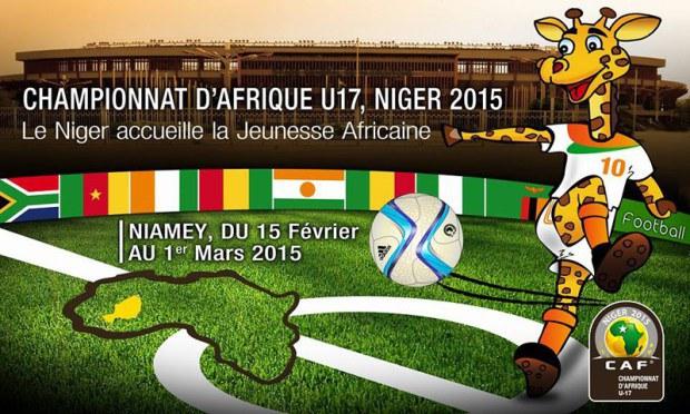 CAN U 17 : Début des compétitions ce dimanche Niger/Nigeria