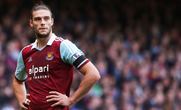 West Ham : coup dur pour Andy Carroll