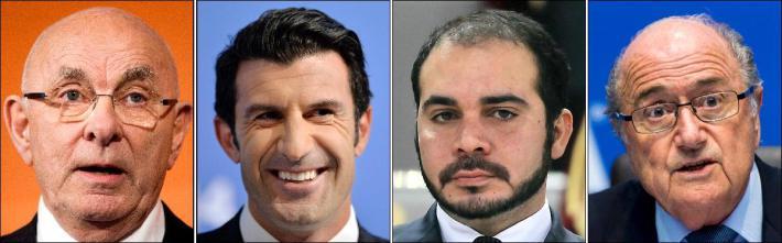 Elections FIFA: Sepp Blatter aura 3 adversaires dont Luis Figo