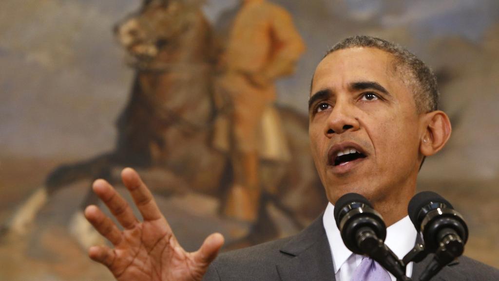 Le président Barack Obama déclaré que personne ne devrait jamais être pris pour cible en raison de ce qu'il est, de son apparence ou de sa croyance. REUTERS/Jonathan Ernst