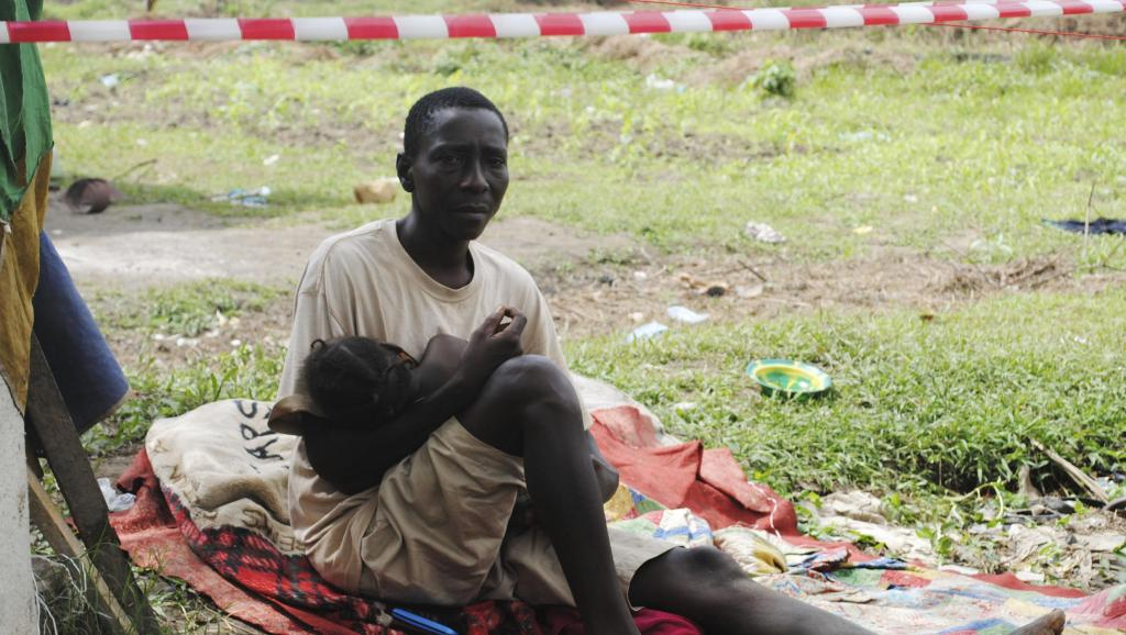 Un Libérien suspecté de porter le virus Ebola placé à l'isolement. REUTERS/James Giahyue