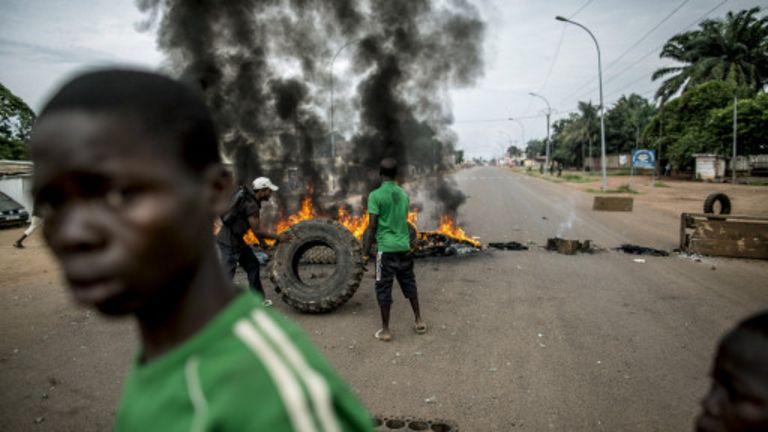 Des violences intercommunautaires ont eu lieu ce 15 février 2015 à Bangui (photo d'archive