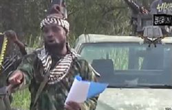 Abubakar Shekau, chef présumé de boko haram (photo d'archives)