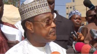 Seyni Oumarou, chef de l'opposition nigérienne