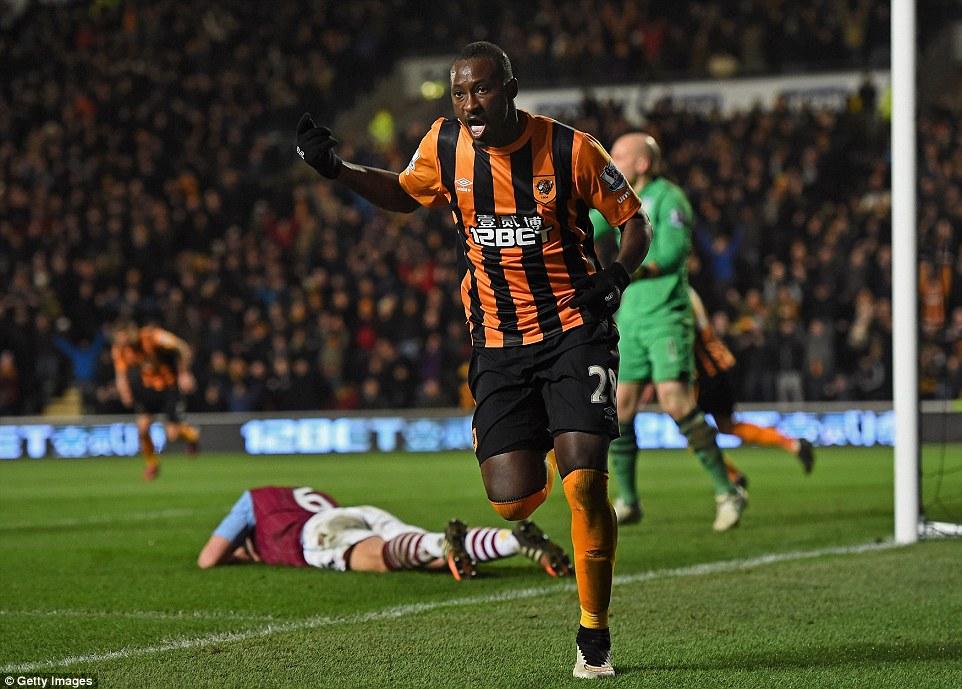Hull City peut compter sur Dame Ndoye, qui retrouve les filets...