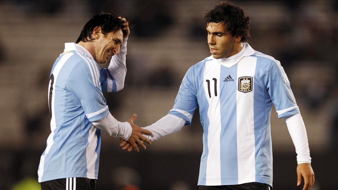 Tévez évoque sa relation avec Messi