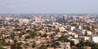 La ville de Yaoundé, au Cameroun.