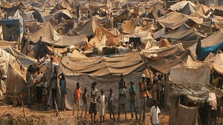 Des réfugiés centrafricains en 2014.