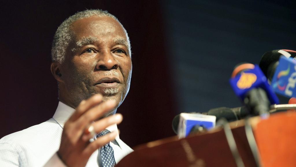 Ces «Spycables» font notamment état de rencontres entre l'ancien président sud-africain, Thabo Mbeki, et des officiels iraniens pour obtenir de l'aide pour leur programme nucléaire. Reuters/Phil Moore
