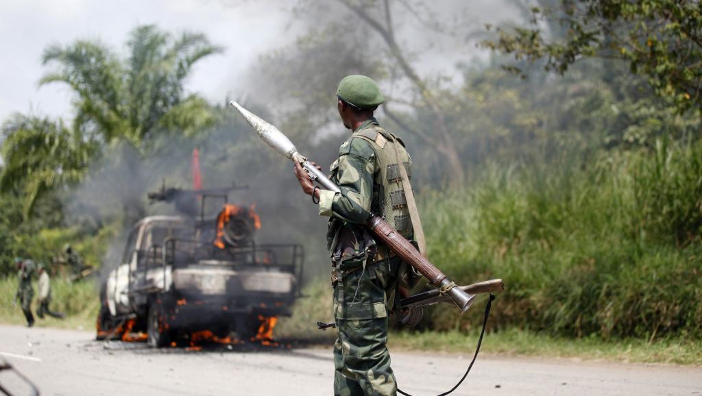 Un soldat des FARDC, l'armée congolaise. REUTERS/Kenny Katombe