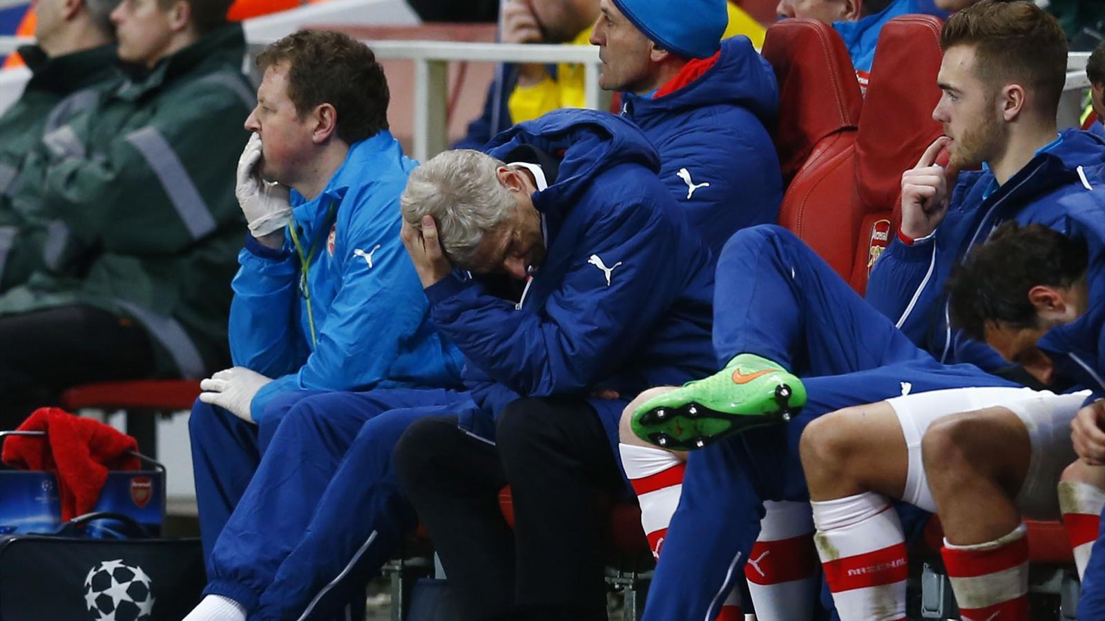 Arsenal-Monaco (1-3) : Wenger s'est trompé, les Gunners l'ont payé