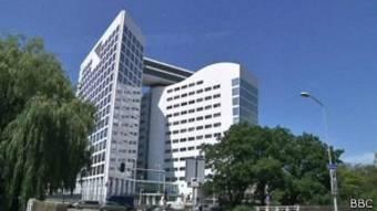 Le siège de la Cour pénale internationale à La Haye, Pays-Bas.