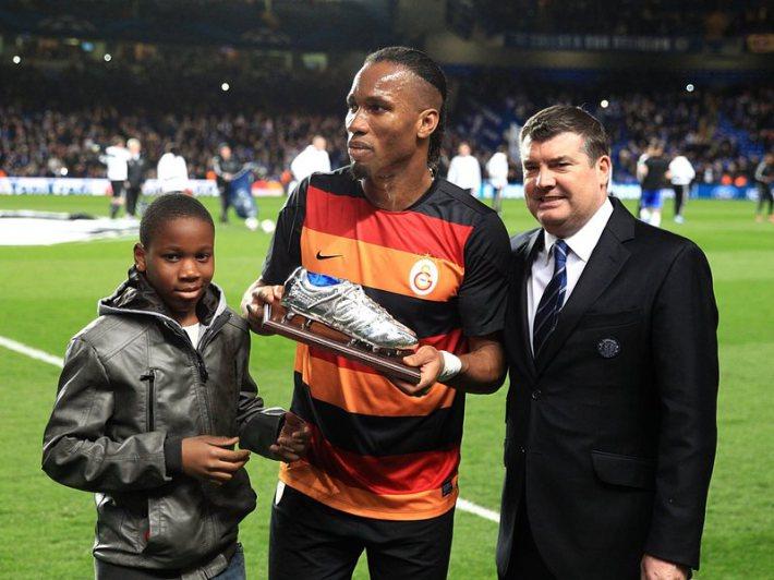 Didier Drogba: son fils veut jouer pour l'Angleterre