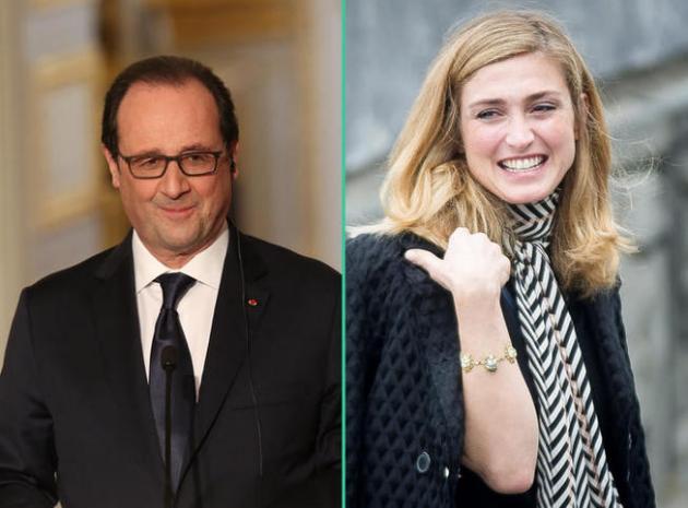 Julie Gayet présente François Hollande comme son « fiancé »