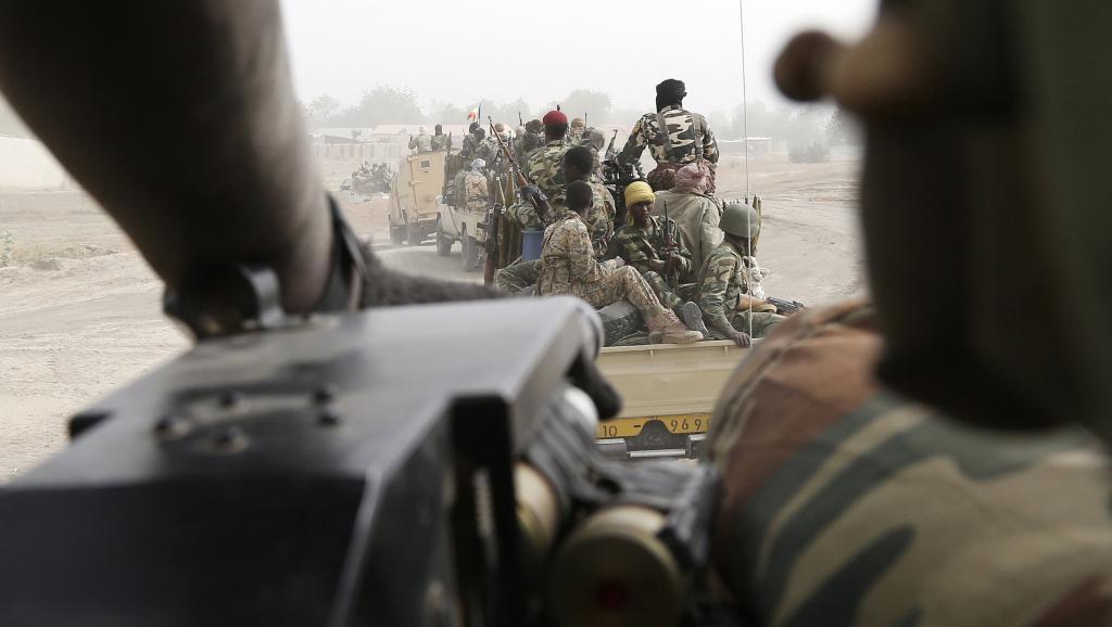 Des troupes tchadiennes au Nigeria, le 27 février 2015. REUTERS/Emmanuel Braun
