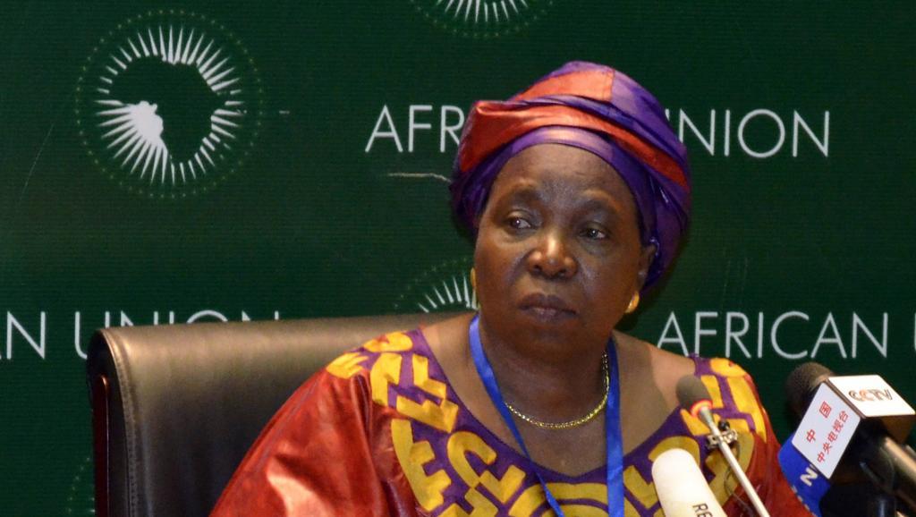 Nkosazana Dlamini-Zuma, présidente de la Commission de l'Union africaine, au sommet de l'UA. Addis-Abeba, le 15 juillet 2012. Reuters/Tiksa Negeri