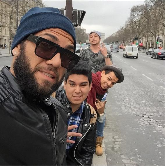 Barça : Alves était à Paris !