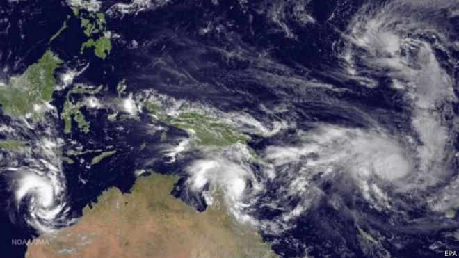 Le cyclone Pam a également fait d'énorme dégâts matériels dans l'archipel
