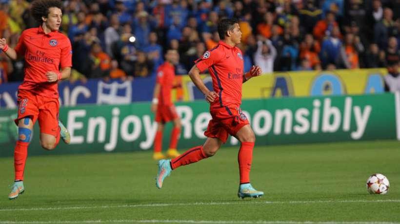 Thiago SIlva et David Luiz, les deux héros du PSG