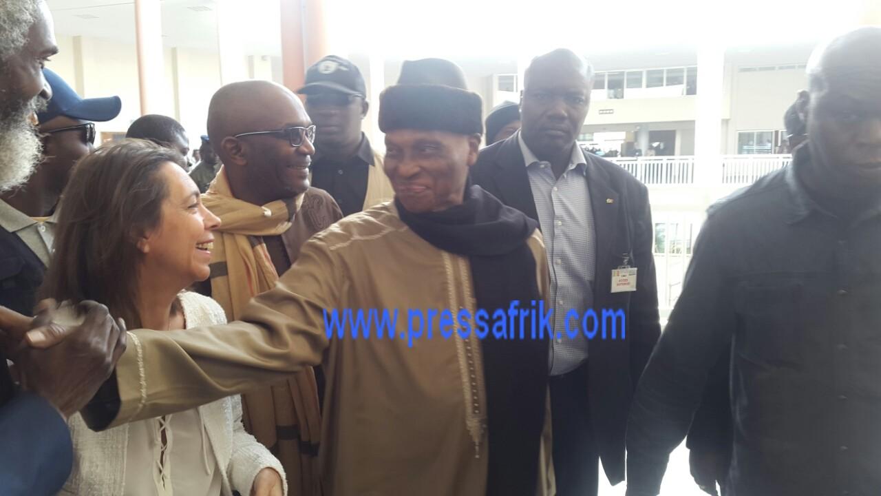 Direct Verdict Karim: wade vient d'arriver au Tribunal