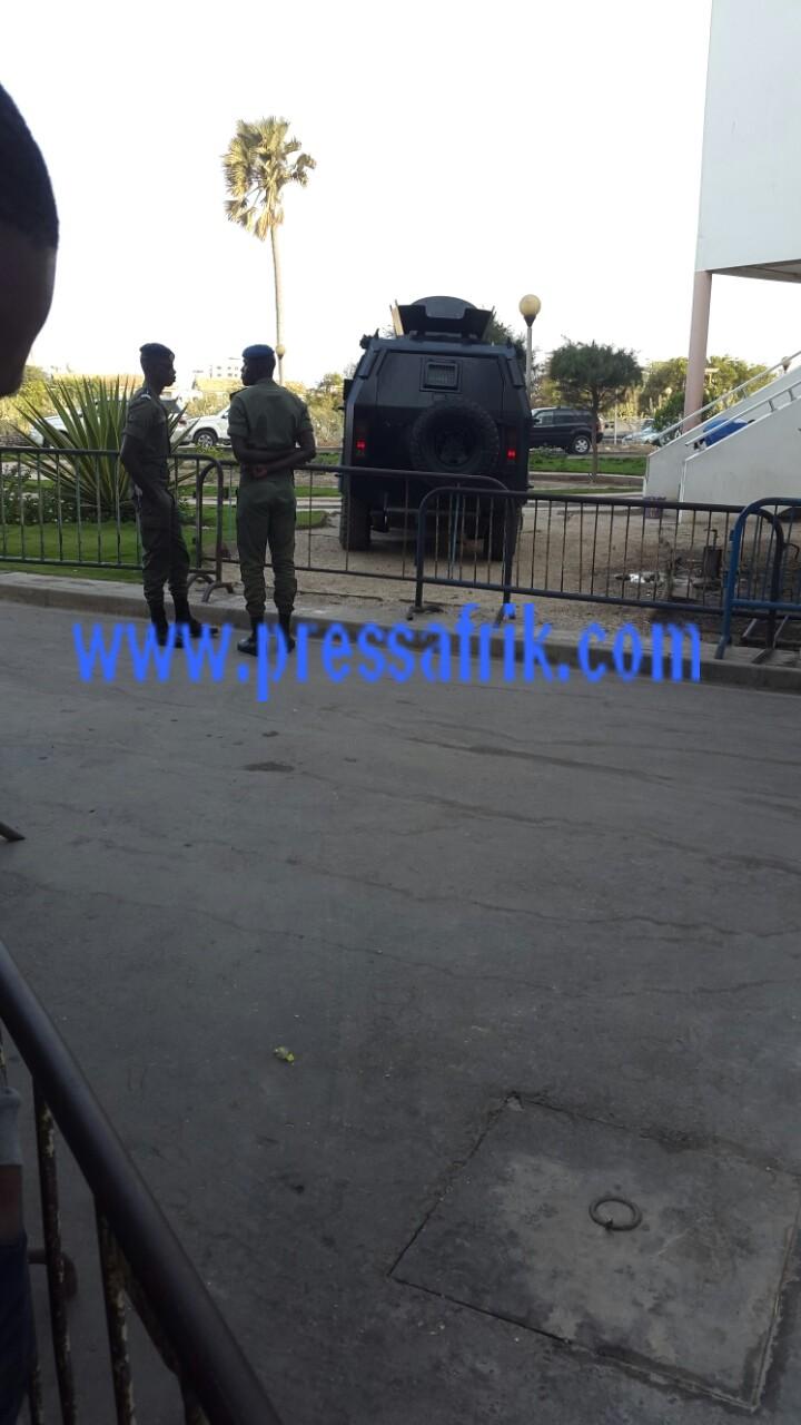Direct verdict Karim ; Une sécurité cruelle au palais de justice