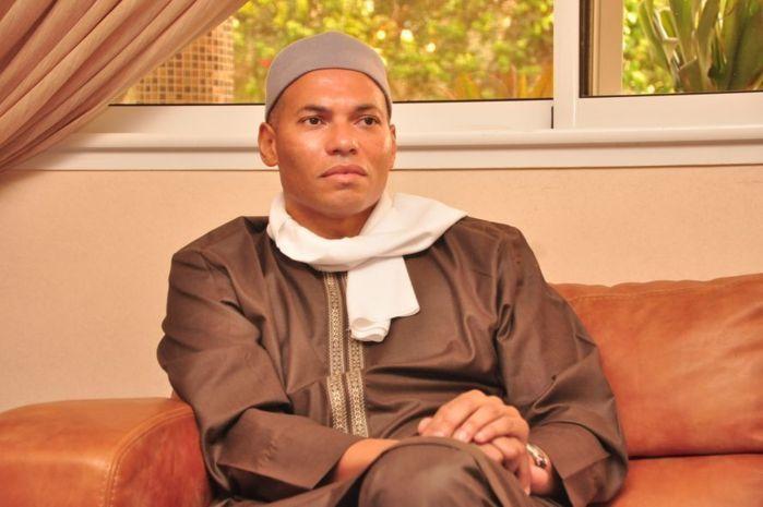 Karim Wade candidat du PDS: La déclaration de Wade fils
