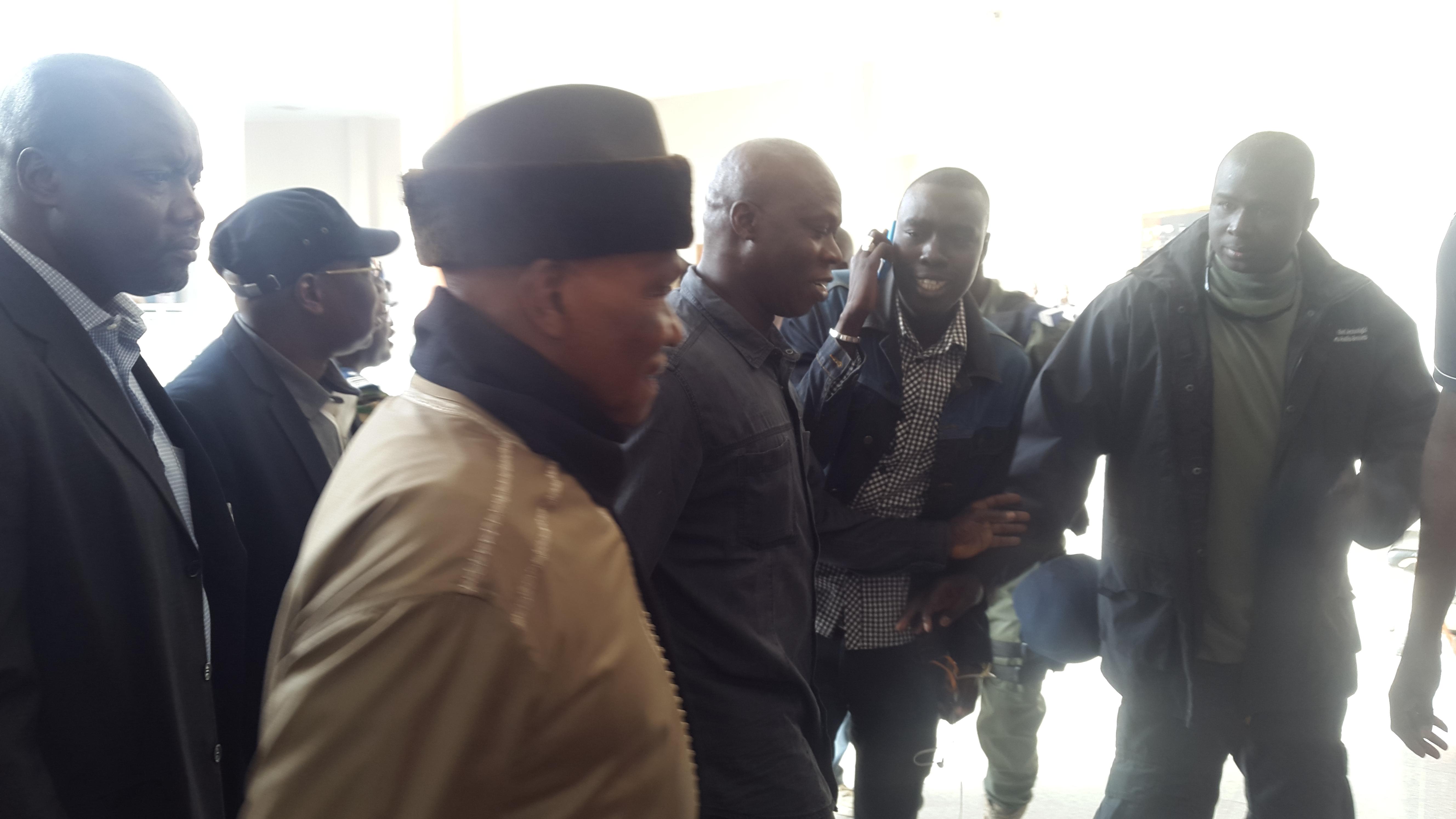 CREI-Verdict contre Karim Wade: Une audience aux allures de meeting