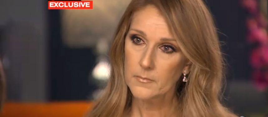 Céline Dion, en larmes : 'René ne peut pas utiliser sa bouche... Il a un tube'