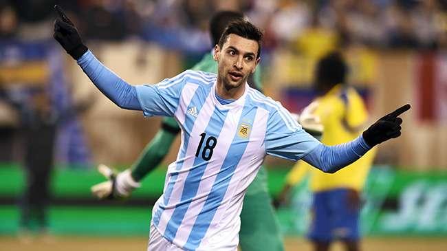 L'Argentine, sans Messi, surclasse l'Equateur