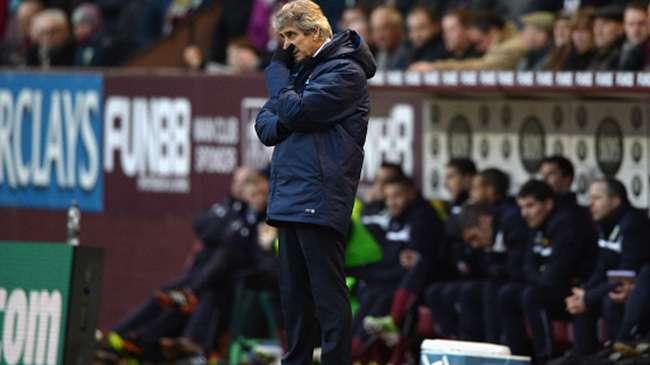 la pression sur Manchester City