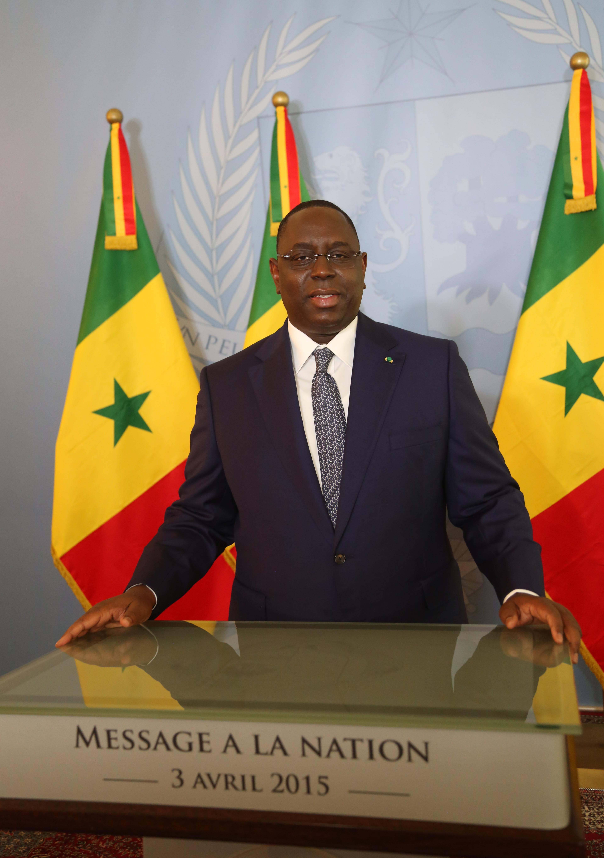 Discours  à la Nation: Macky Sall appelle à la discipline et à l'esprit de dépassement