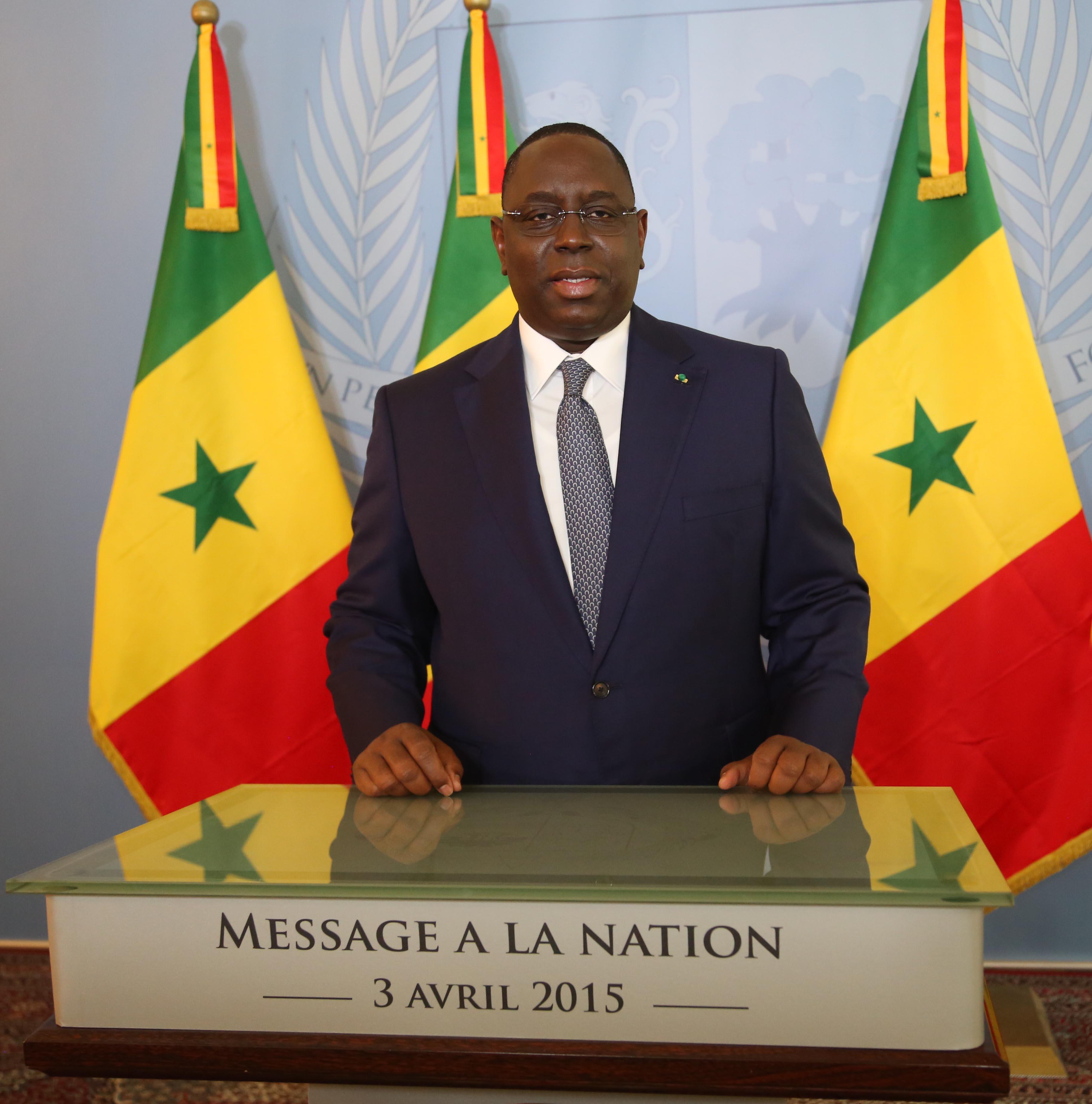 Discours à la nation du 3 avril 2015: La Grande offensive de Macky Sall en faveur du Tourisme