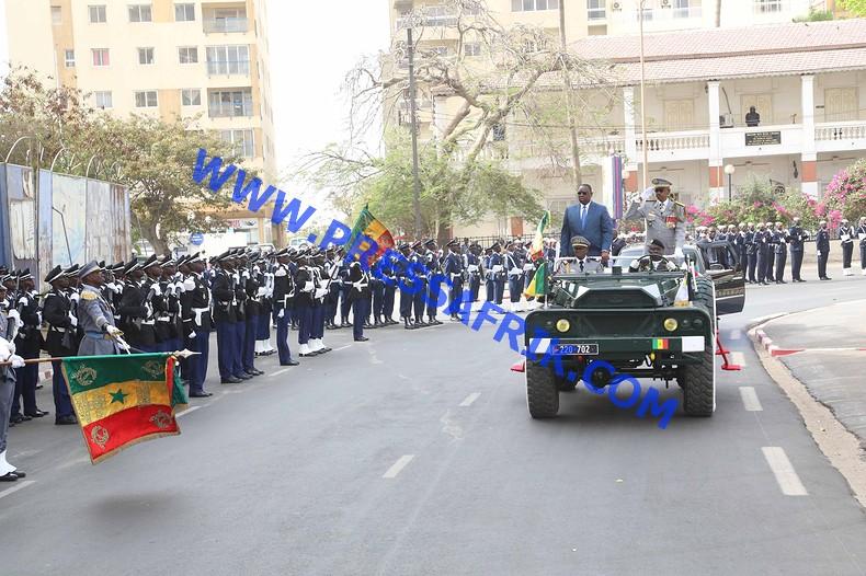 La fête nationale du 4 avril : Revivez en images la cérémonie de prise d'arme