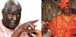 Double Less, s'est marié avec la mère d'Ama Baldé