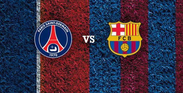 PSG-Barça : les compositions d'équipe