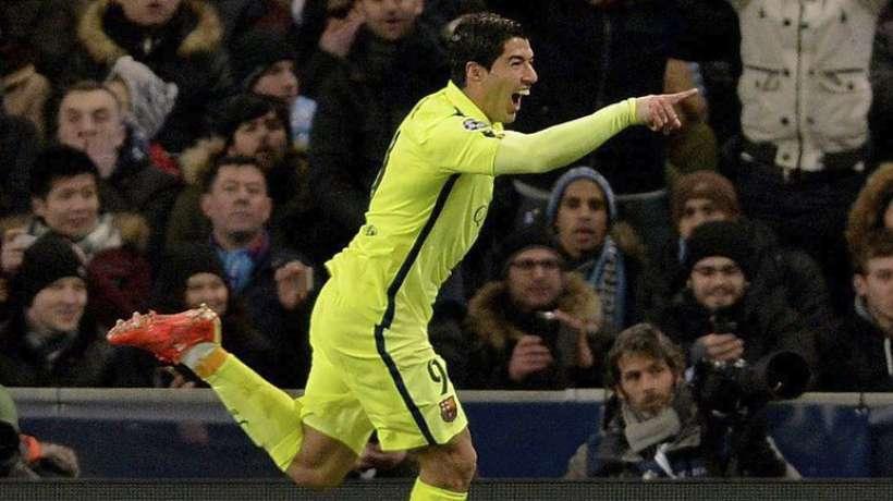 PSG - Barça :  1-3, Suarez, l'homme du match