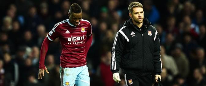 West Ham : Saison terminée pour Diafra Sakho ?