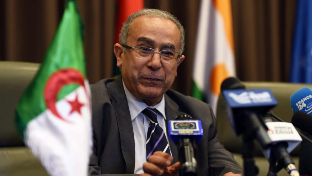 Le ministre algérien des Affaires étrangères Ramtane Lamamra et médiateur des pourparlers de paix pour le nord du Mali. AFP PHOTO/FAROUK BATICHE