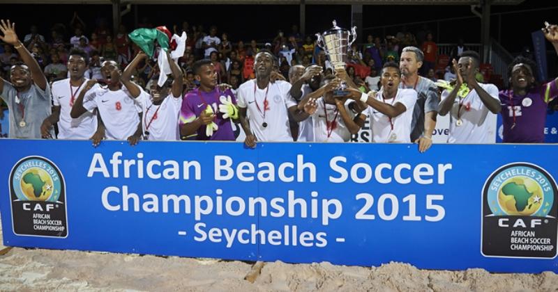 """CAN Beach Soccer Seychelles 2015: les """"Lions"""" perdent leur titre"""