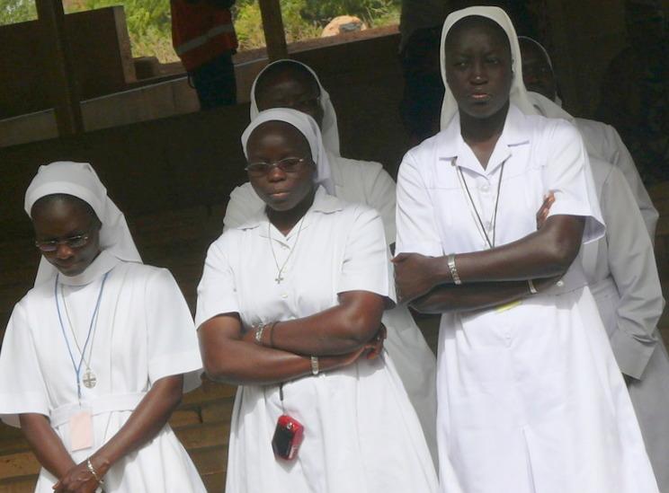 Rencontre des économes des Congrégations religieuses du Sénégal, le 22 avril