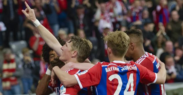 Schweinsteiger délivre le Bayern, virtuellement champion d'Allemagne