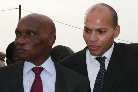Reubeuss : Me Abdoulaye Wade, Karim et ses filles en intimité familiale