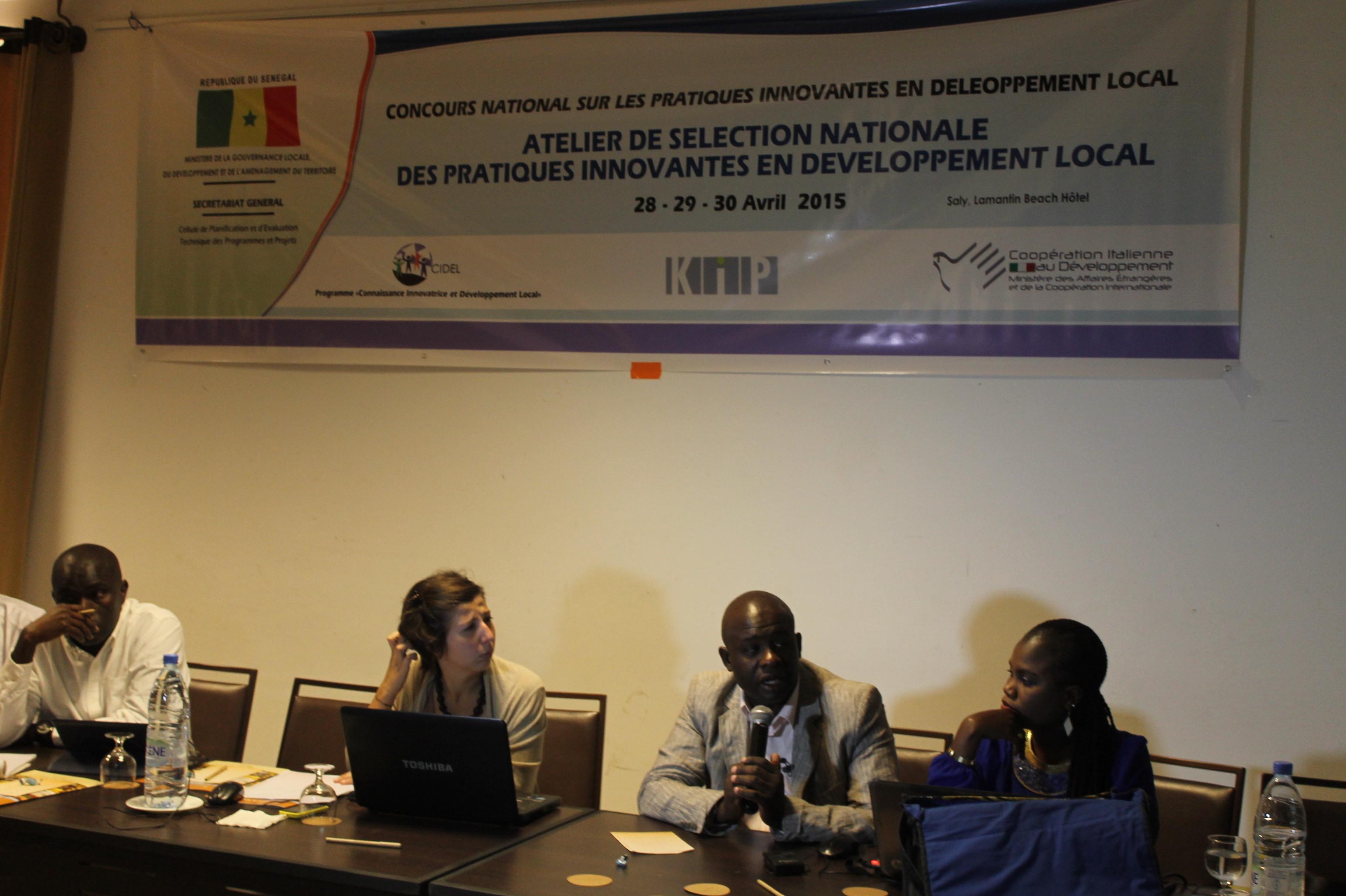 Meilleures pratiques innovantes en développement local : Un atelier pour le choix des lauréats