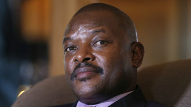 Le président burundais, Pierre N'kurunziza